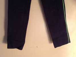 Navy with Lime Green Side Lines Riding Pants Dublins Skinny Leg Size Large image 4