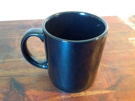 New Black Ceramic Comical Coffee Mug Work With Me People in White Letters image 4