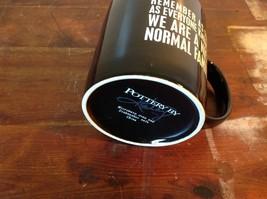 New Black Ceramic Comical Coffee Mug  Remember As Far As Everyone Knows image 6