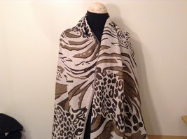 New Long Scarf Shawl w Leopard print  in choice of color image 12