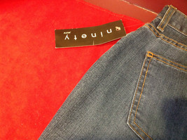 New Ninety Jeans Ladies Denim Jeans 32 inch waist.  Inseam 31. image 10