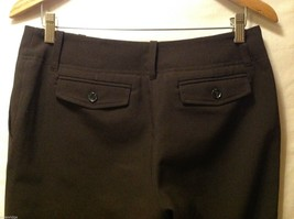 New York & Co. Womans Black Dress Pants, Size 8P image 6