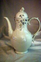 Royal Doulton 1988 Lausanne Footed Coffee Pot 6 Cup - $34.64