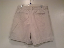 New York and Company NY Khakis 100% Cotton Light Tan Casual Shorts Size 12 image 3
