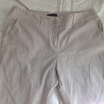New York and Company Tan Casual Pants Size 12 Average Five Pockets image 2