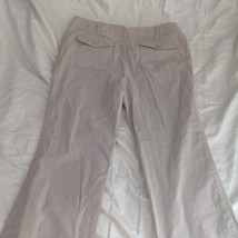 New York and Company Tan Casual Pants Size 12 Average Five Pockets image 4