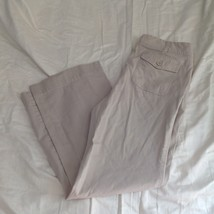 New York and Company Tan Casual Pants Size 12 Average Five Pockets image 5