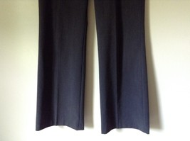 Nicole Miller New York Dark Gray Dress Pants Size 8 Zipper and Clasp Closure image 3