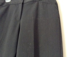 Nicole Miller New York Dark Gray Dress Pants Size 8 Zipper and Clasp Closure image 4