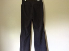 Nicole Miller New York Dark Gray Dress Pants Size 8 Zipper and Clasp Closure image 6