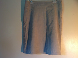 Ninety Size 8 Gray Skirt Zipper Closure on Side New with Tag Attached image 2