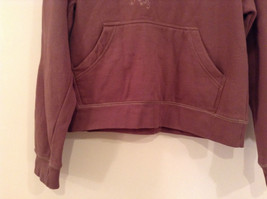 OPI Girl Wine Colored Hooded Sweatshirt Thousand Island Winery Size Medium image 4