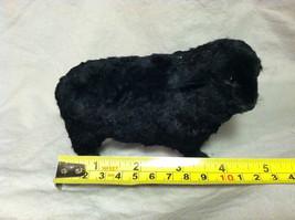 North American Black Sheep Animal Figurine - recycled rabbit fur image 7