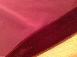 Old Navy Girls Maroon Velvet A-line Skirt, Size 14 image 8