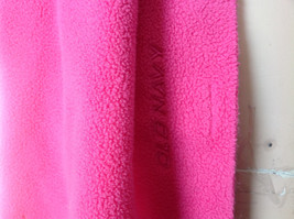 Old Navy Pretty Pink Tassle Fleece Scarf 68 Inches in Length image 4
