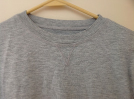 Old Navy Gray Long Sleeve Football Player Graphic Shirt Size Large 10 to 12 image 4