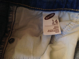 Old Navy Sweetheart Blue Denim Jeans Size 14 image 7