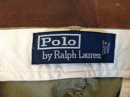 Olive Green Corduroy Ralph Lauren 4 Pocket Pants Button Zipper Closure Size 32 image 8