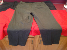 Olive Colored Dressbarn Womens Pants Size 18W image 6