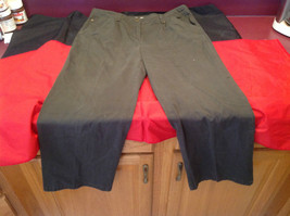 Olive Colored Dressbarn Womens Pants Size 18W image 4