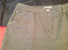 Olive Colored Dressbarn Womens Pants Size 18W image 2