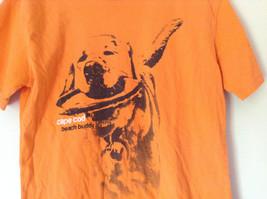 Orange Cuffys of Cape Code Beach Buddy T Shirt Size XL 18 to 20 image 3