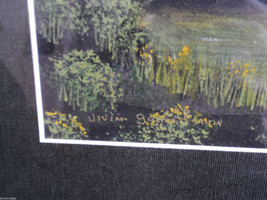 Original Water Color Painting of Hudson Valley woods by Vivian Gaines Tanner image 4
