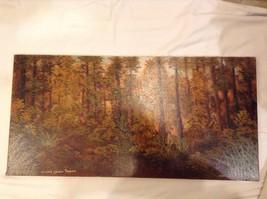 Painting Original Autumn Forest Vivian Gaines Tanner Hudson Valley Artist image 2