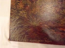 Painting Original Autumn Forest Vivian Gaines Tanner Hudson Valley Artist image 6