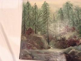 Painting Original Foggy Waterfall Vivian Gaines Tanner Hudson Valley Artist image 4