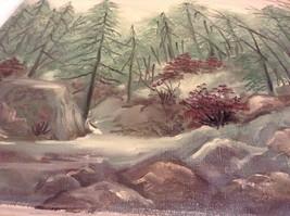 Painting Original Foggy Waterfall Vivian Gaines Tanner Hudson Valley Artist image 7
