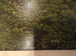 Painting Original Green Forest Vivian Gaines Tanner Hudson Valley Artist image 4