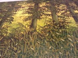 Painting Original Green Forest Vivian Gaines Tanner Hudson Valley Artist image 8