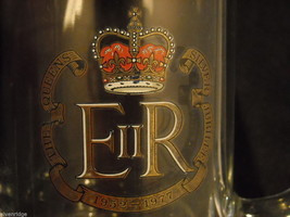Pair of Glass Mugs from Queen Elizabeth II Silver Jubilee image 6