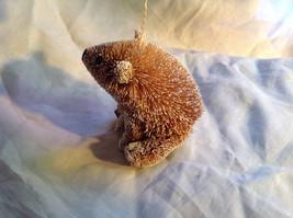 Palm Fiber Polar Bear Brush Animal Eco Fiber Sustainable Ornament image 4