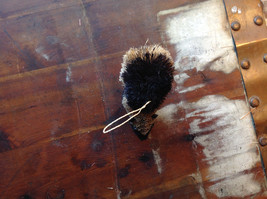Palm Fiber Small Skunk Brush Ornament  Eco Fiber Sustainable Made in Philippines image 5