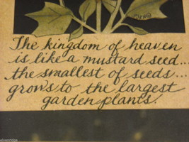 Paper Cutting The Kingdom of Heaven is Like a Mustard Seed Scherenschnitte Luke image 3