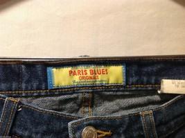 Paris Blues Womens Dark Cotton Jeans Pants, Size 11 image 7