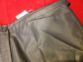 Patrizia Pepe Firenze 44 Silver Capris 3/4 length pants Italian image 9