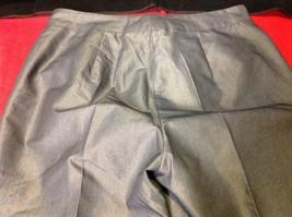 Patrizia Pepe Firenze 44 Silver Capris 3/4 length pants Italian image 7