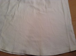 Pebble Beach Size S Natural White Cream Colored Sleeveless Shirt All Cotton image 7
