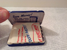 Phillips Milk of Magnesia Tin w Tablets Great Condition Vintage Collectible only image 4