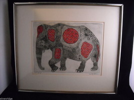 Picture of Elephant With Indian Style Pattern image 7