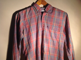 Pierre Cardin Multicolored Button Up Long Sleeve Collared Shirt Size Medium image 2