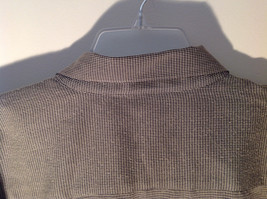 Pierre Cardin Gray Black Green Small Design Pattern Long Sleeve Shirt Size XL image 7