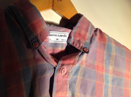 Pierre Cardin Multicolored Button Up Long Sleeve Collared Shirt Size Medium image 6