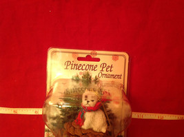 Pine Cone Pet Ornament Westie Pine Cone Pet New in Original Package image 7