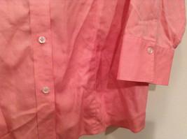 Pink Long Sleeve Button Up Liz Claiborne 100 Percent Cotton Shirt Size 16 image 3