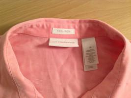 Pink Long Sleeve Button Up Liz Claiborne 100 Percent Cotton Shirt Size 16 image 6