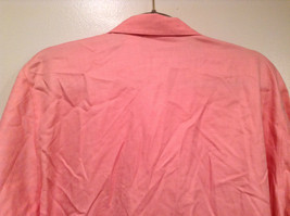 Pink Long Sleeve Button Up Liz Claiborne 100 Percent Cotton Shirt Size 16 image 5
